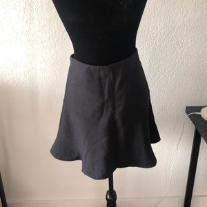 Black skirt size 0